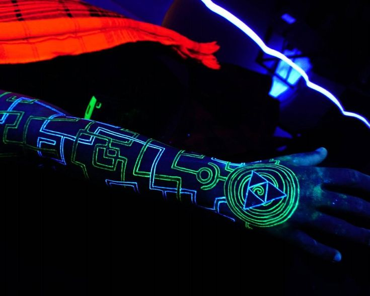 30 awesome uv tattoo ideas gorgeously glowing body art maquillages pinterest lumi re. Black Bedroom Furniture Sets. Home Design Ideas