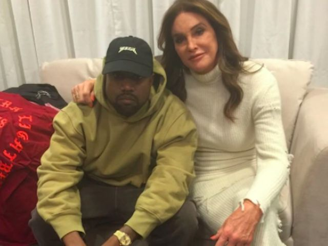"""Kanye West's Father-In-Law Caitlyn Jenner Rubs Elbows W/ Hillary Clinton: """"Learning From My Girls"""""""