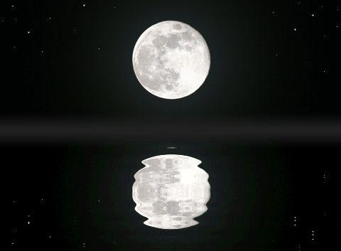 물에 비친 달 - Google 검색