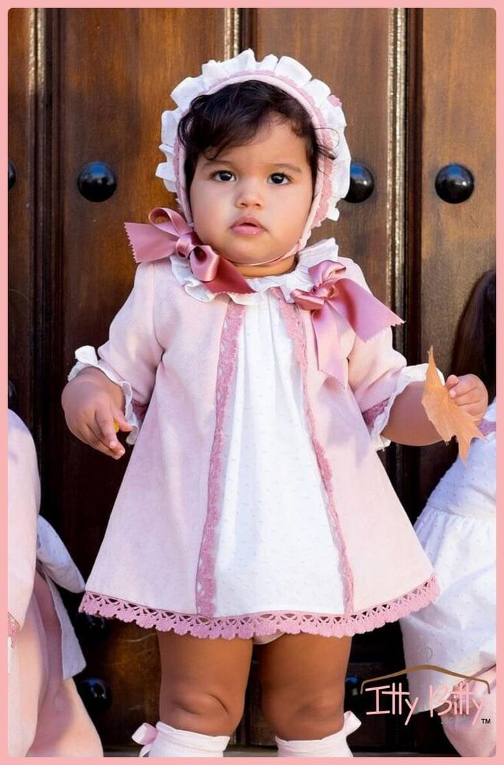 Itty Bitty Premium Spanish Boutique Pink Collection - Seville | Online #spanish_baby_boutique
