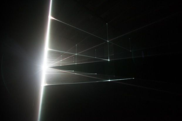 UVA Creates Space From Light In Vanishing Point | The Creators Project