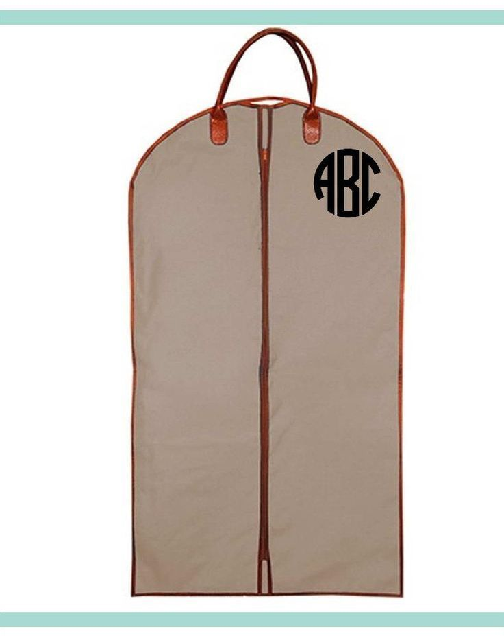Men's Garment Bag - Suit Bag - Groomsmen gift