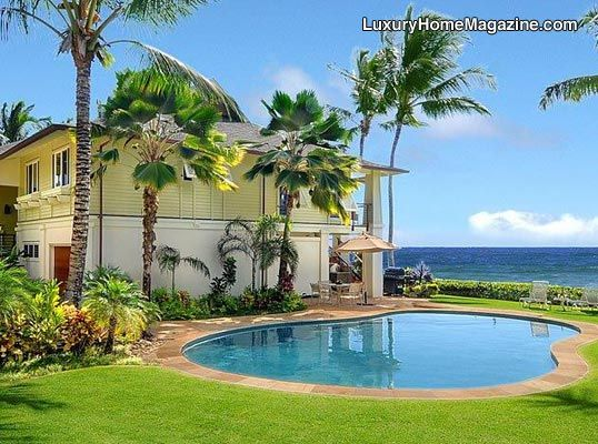 The perfect home nestled on Hawaii | View this home at http://bit.ly/1MbbHZb