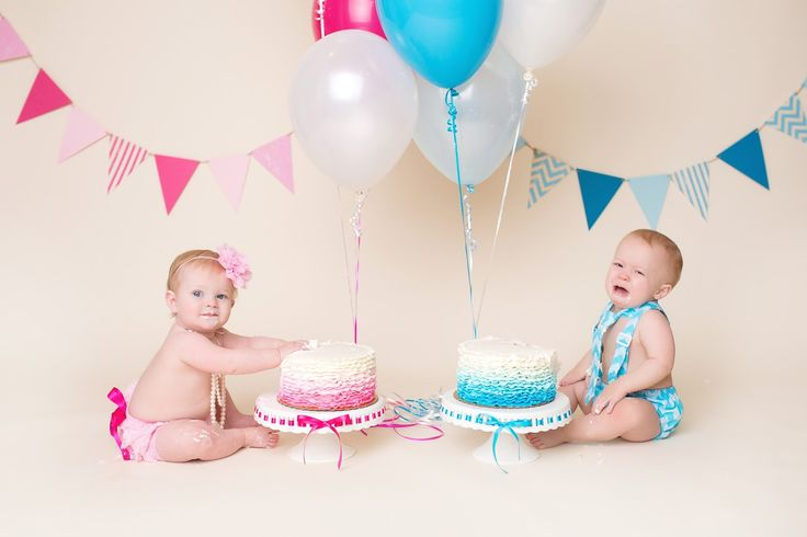 Twin cake smash More