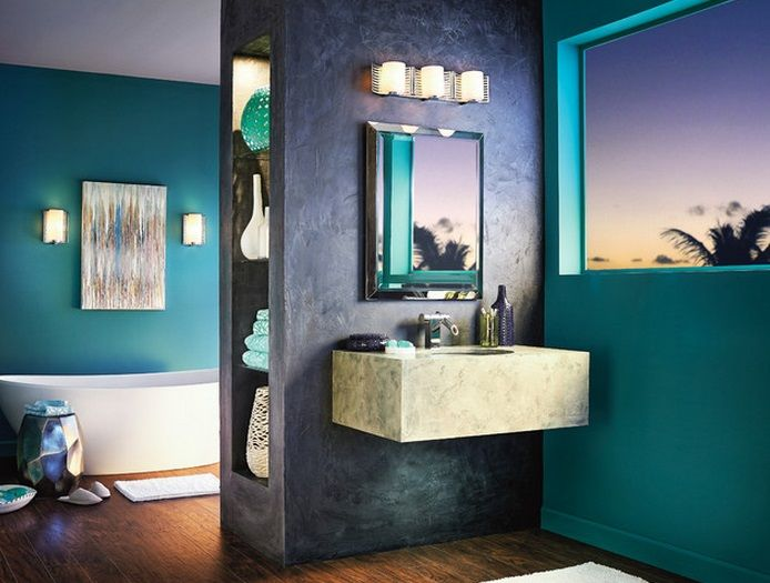 202 best Bathroom Lighting images on Pinterest | Bathroom lighting ...