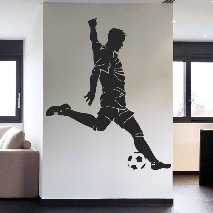 ik990 Wall Decal Sticker European football sports team game children's bedroom