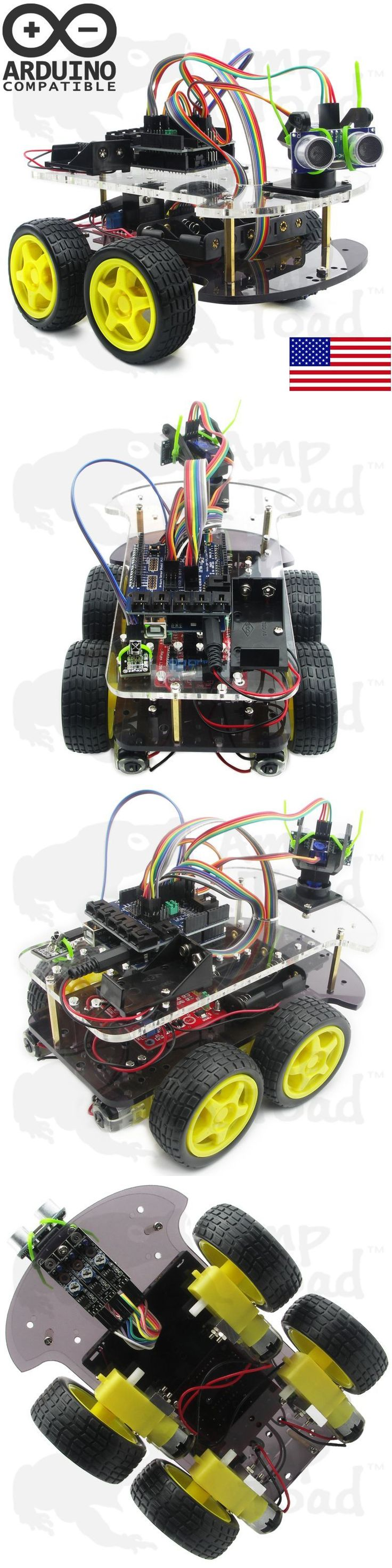 Remote-Controlled Toys 84912: 4Wd Arduino Smart Car Robot Learning Starter Kit - Smart Programmable Robot Diy -> BUY IT NOW ONLY: $69.5 on eBay!