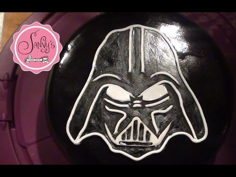 Star Wars Battlefront -Darth Vader Torte/cake/How to make by Sanny´s eSport Torten - YouTube