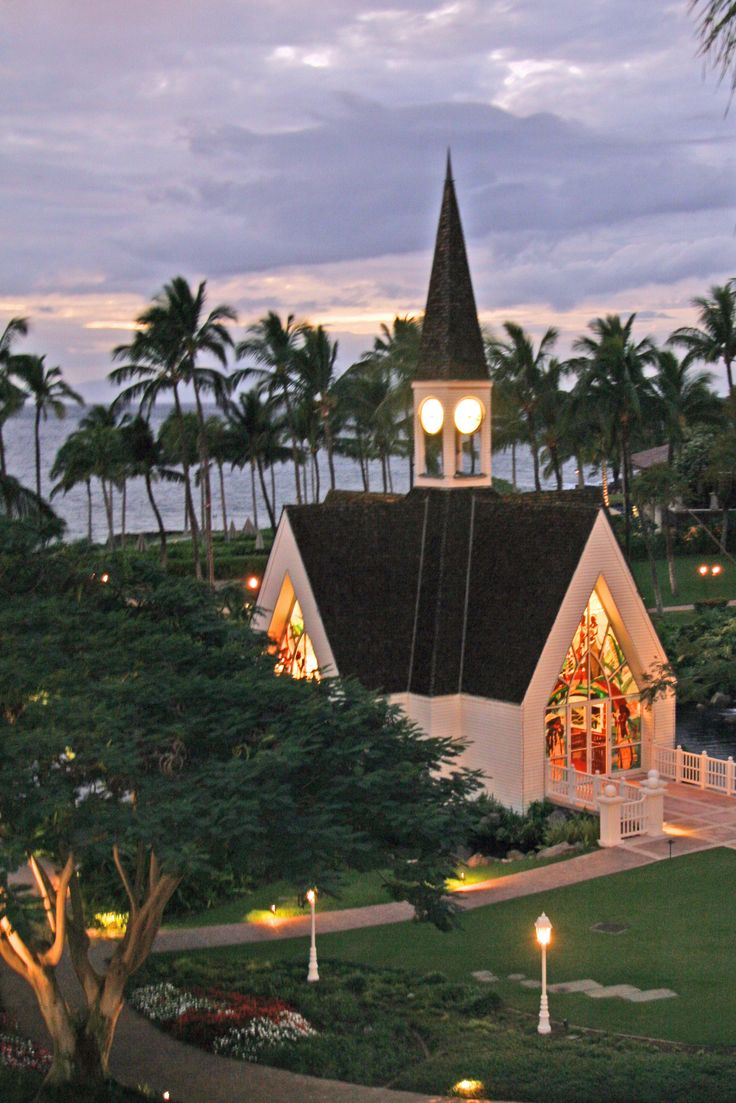 Your wedding bags for a grand getaway today s destination wedding - Chapel At Grand Wailea Maui