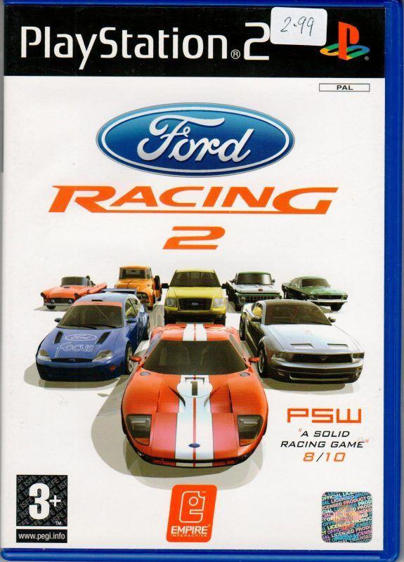 Ford Racing 2 With Images Playstation Racing Playstation 2