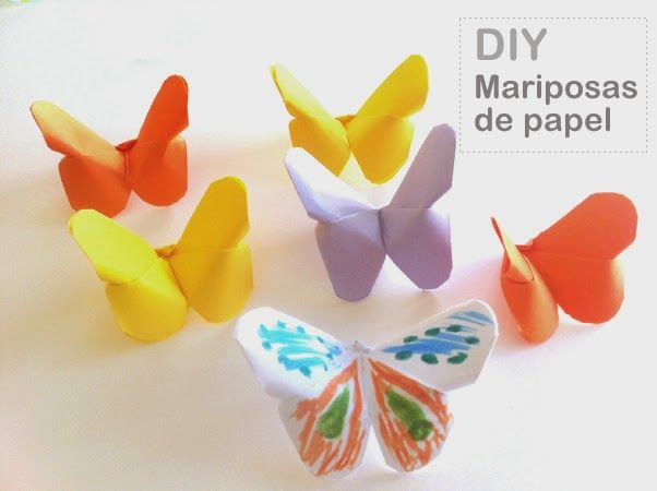 17 best ideas about como hacer mariposas on pinterest - Como hacer mariposas de papel ...