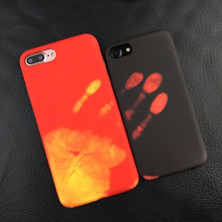 You can't go thermally wrong with Thermal Sensor iPhone Case