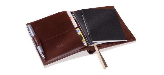 X47: DUO1 Terminplaner mit Portemonnaie @ scriptura
