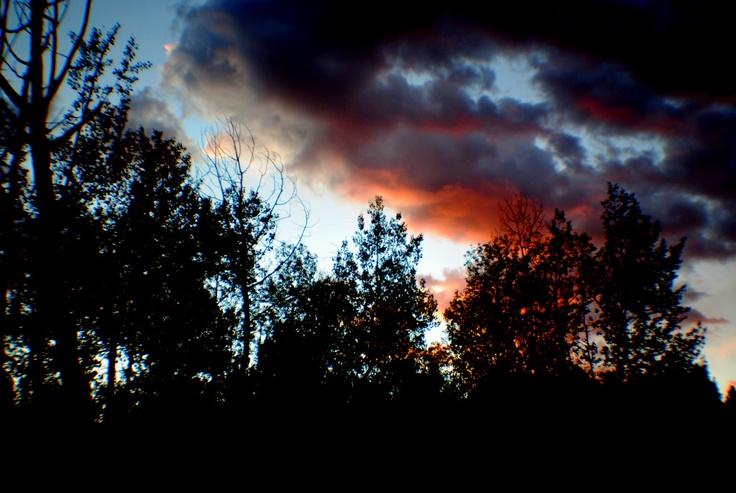 Sunset Cloudcroft, NM  9/28/11