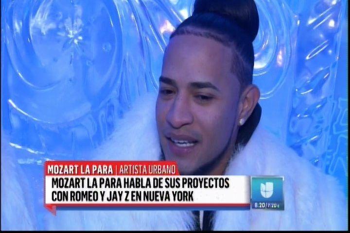 """Mozart La Para Llega A """"Despierta América"""" Hablando De Sus Proyectos Con Romeo Y Jay-z"""