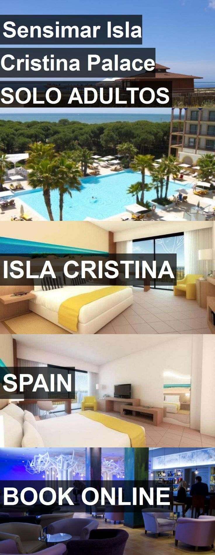 Hotel Sensimar Isla Cristina Palace SOLO ADULTOS in Isla Cristina, Spain. For more information, photos, reviews and best prices please follow the link. #Spain #IslaCristina #travel #vacation #hotel