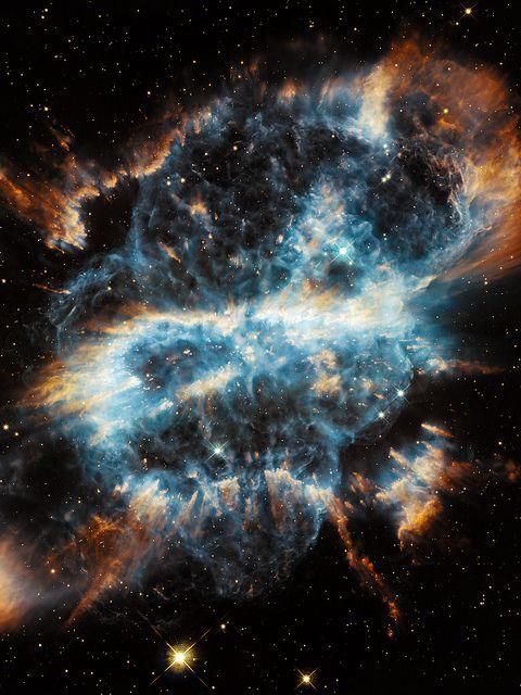 NGC 5189 Spiral Planetary Nebula http://en.wikipedia.org/wiki/NGC_5189