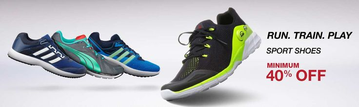 Buy Sports Shoes Online at Low Price in India Get Up To 40% Off on #SportsShoes  Visit @ http://amzn.to/2bXKIFY