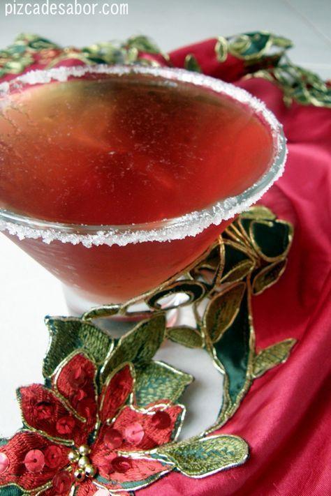 Martini de granada {para celebrar el a�o nuevo} | http://www.pizcadesabor.com/2012/12/31/martini-de-granada-para-celebrar-el-ano-nuevo/