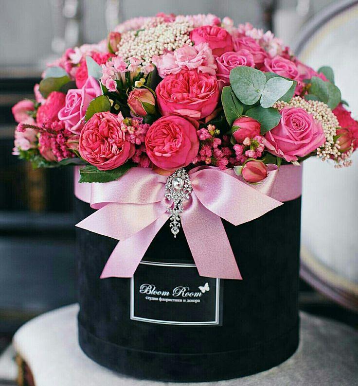 с днем рождения картинки цветы в коробке наша задача