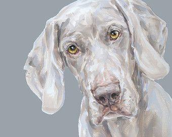 Border Terrier Sammlerstücke Ltd. Ed. Fine Art von paintmydog