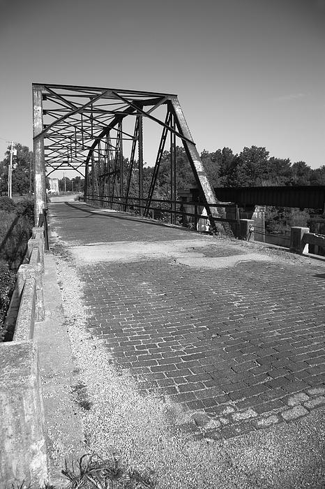 "Route 66 - One Lane Bridge, Sapulpa, Oklahoma. ""The Fine Art Photography of Frank Romeo."""