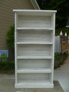 Bookcase made from pallets by jessicaashlock on Etsy