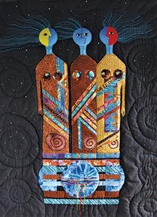 Three Sister's Song Dream ~ quilt by Jan Reich