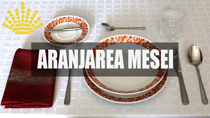 BUNE MANIERE - Aranjarea mesei cu Ruxandra Lăcătuș