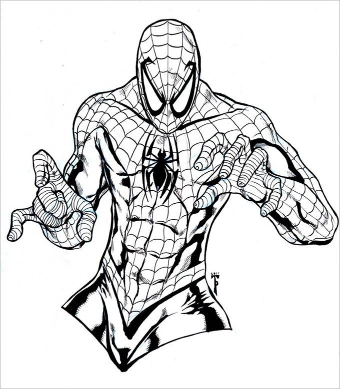 Awesome Spider Man Far From Home Coloring Pages Printable Nice