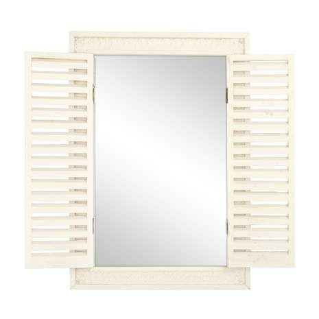 Chalk Cottage Shutter Mirror