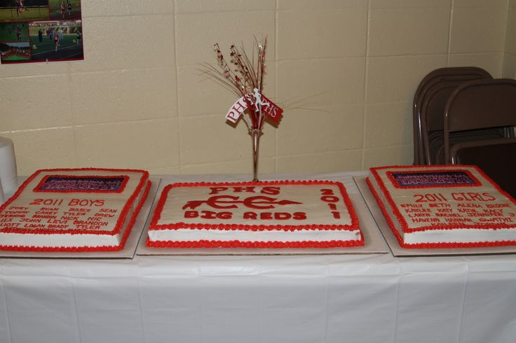Michele Robinson Cakes: Parkersburg High School Cross Country Team Cake