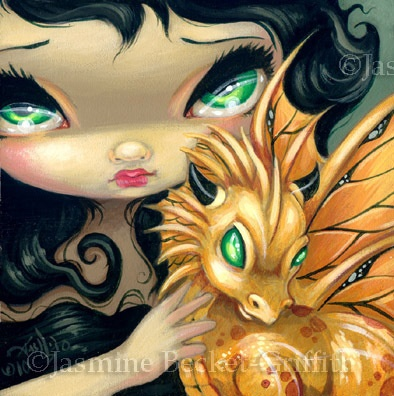 """""""Faces of Faery #95"""" by Jasmine Becket-Griffith"""
