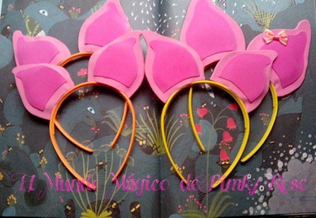 Diademas con orejas para distintas celebraciones