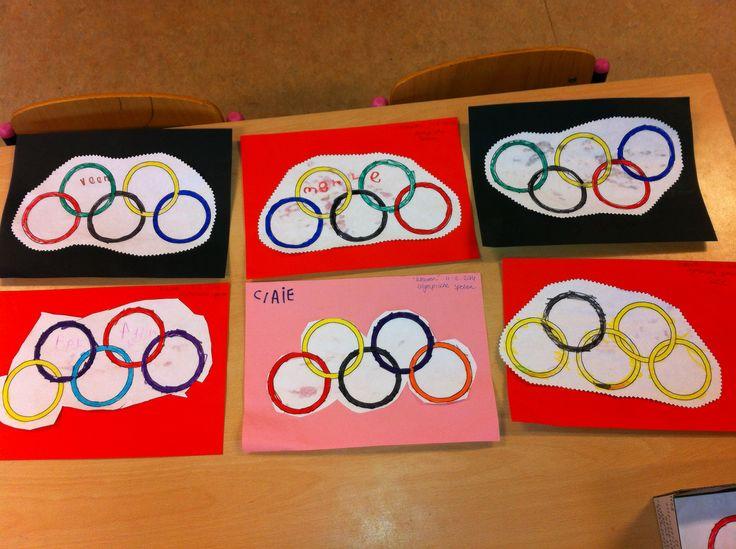 Groep 1: Olympische spelen 2014 -juf monica