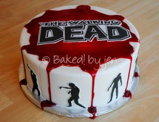 The Walking Dead Birthday Cake - CakesDecor