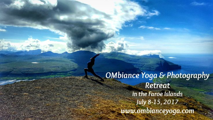 OMbiance Yoga and Photography Retreat | July 2017 | creativity through movement | Faroe Islands | yoga | meditation | hiking | photography | Denmark