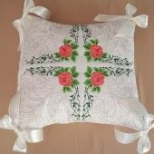 Snow White Pillow Quilt Rose Combo | astitchahalf machine embroidery | Machine Embroidery Designs