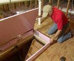 DIY Fold Down Attic Stair Insulation