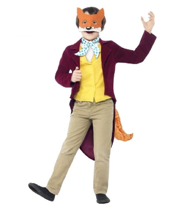 Shop for Official Roald Dahl Fantastic Mr Fox Costume for Children at Totally Fancy. From our Roald Dahl Collection this Fantastic Mr Fox Costume is a brilliantly memorable fancy dress idea that s ideal for Roald Dahl Day and World Book Day / Week. Many more Roald Dahl and Book Character fancy dress for children available.