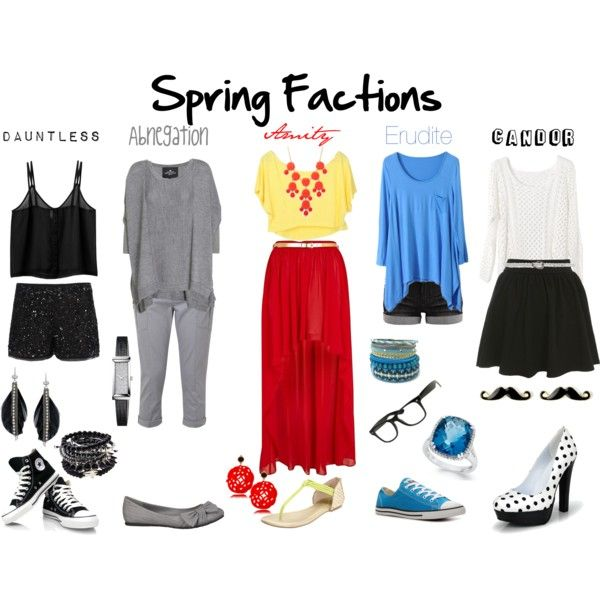 """Spring Factions"" probably gonna do amity for the premier tomorrow night since it is my faction! (:"