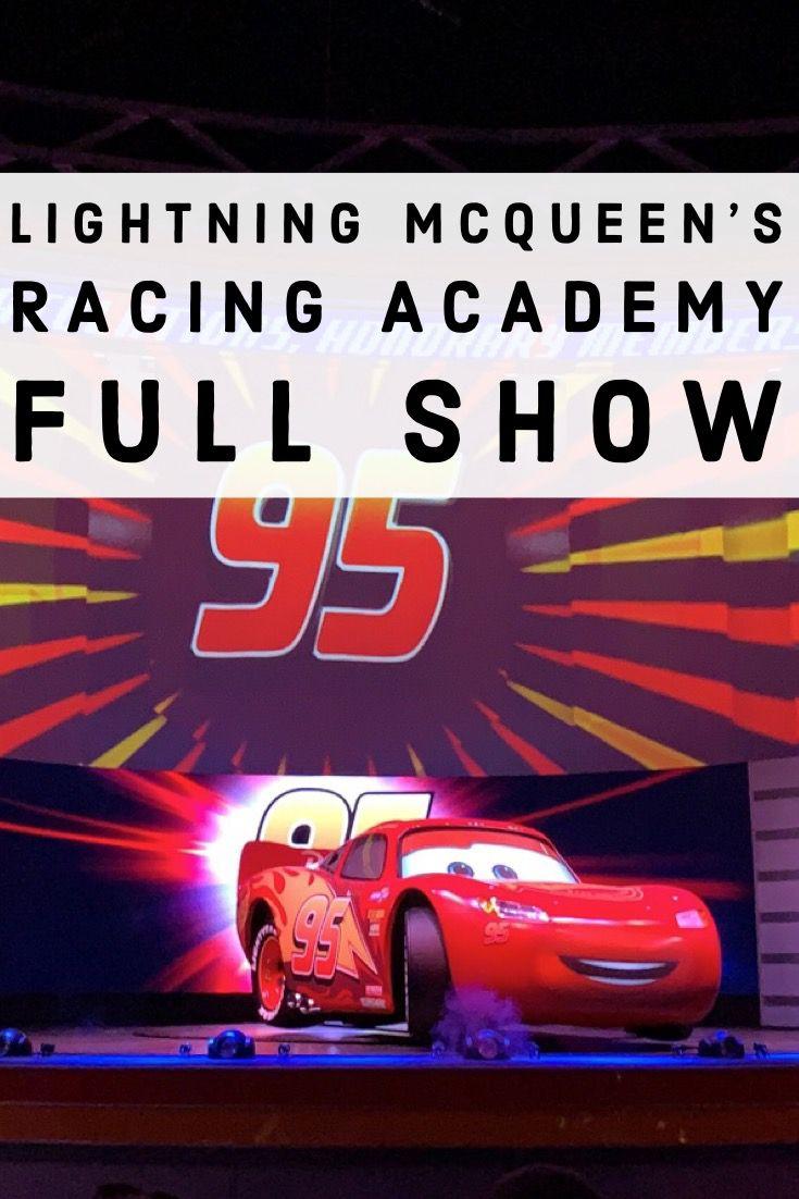 Lightning Mcqueen S Racing Academy Full Show Disney S Hollywood Studios Hollywood Studios Disney Rock N Roller Coaster Hollywood Studios