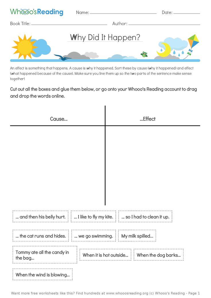 22 besten Free Literacy Worksheets Bilder auf Pinterest ...