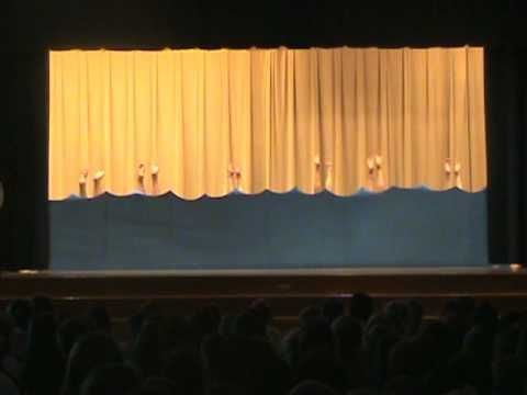 Elementary school talent show Synchronized Swimming Skit