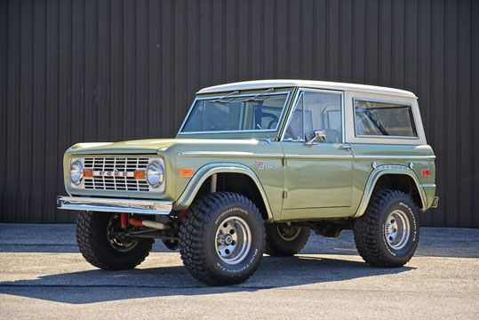 1974 Ford Bronco | Next car as soon as I can afford it.