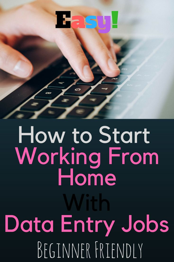 Start to be working from home with Data Entry Jobs. It doesn't require so much of yours, just moderate typing speed and some accuracy. Let's see what's data entry jobs about in detail and how to start and get a job on data entry online. Visit the site to access the full details to be a data entry freelancer that works just from home.