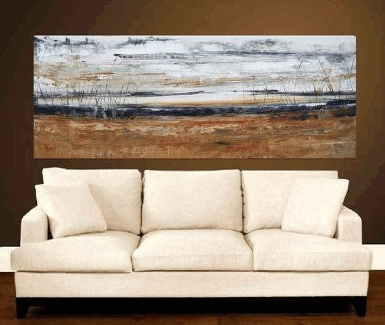 simple painting above couch – #abovecouch #Couch #…