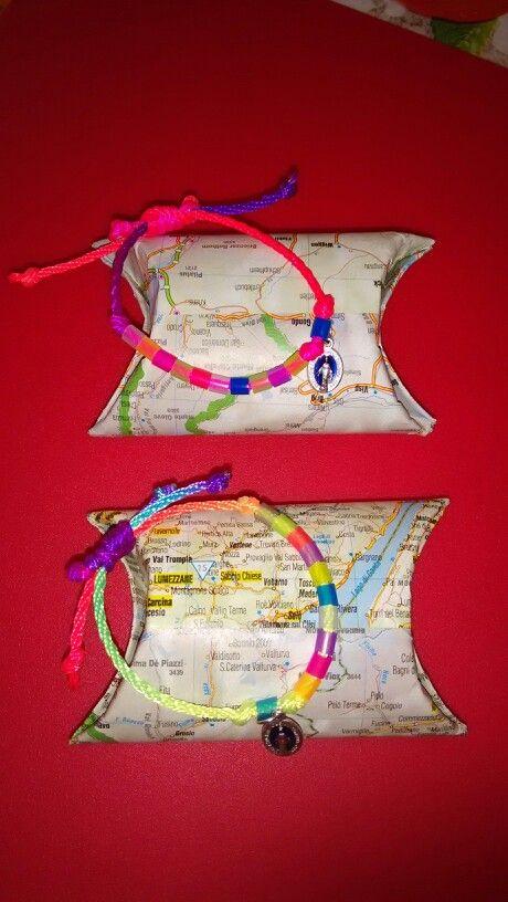 Braccialetti per Rosario...con pacchetto handmade!