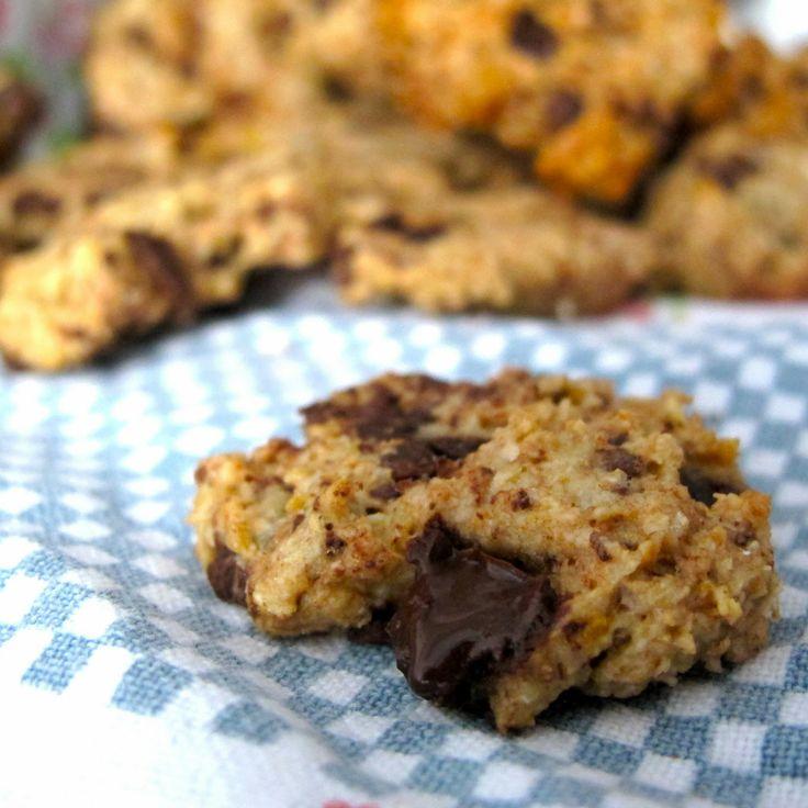 Cookies+de+banana+e+aveia+com+pepitas+de+chocolate...