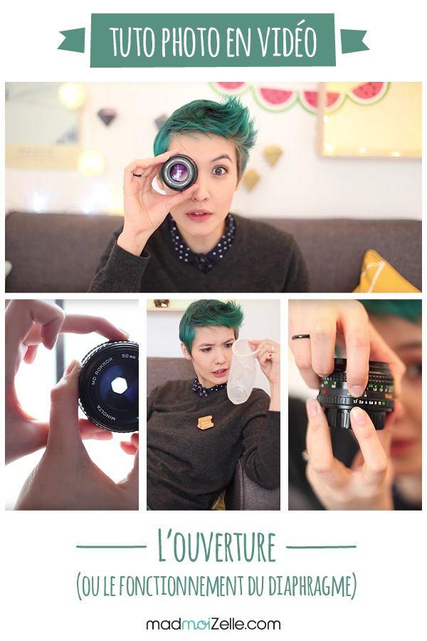 Pour ce second tuto en vidéo, Chloé Vollmer-Lo t'explique comment fonctionne le réglage de l'ouverture de ton appareil photo.